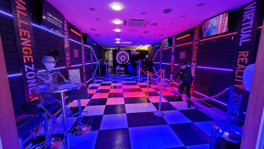 redditch virtual reality arcade and free roaming experiences kingfisher shopping centre - escape challenge redditch