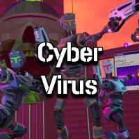 cyber virus free roaming virtual reality game experience